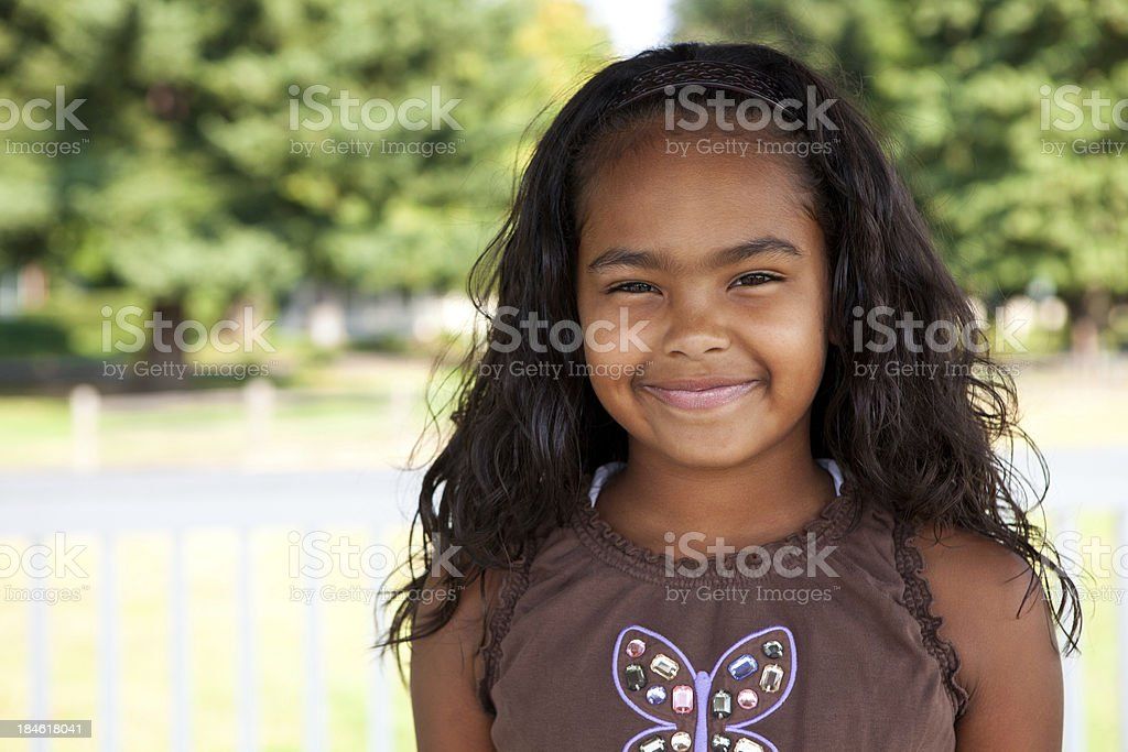 Cute Young Black Girl Stock Photo Download Image Now Istock