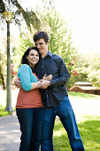 istock cute young urban couple in park 172212271
