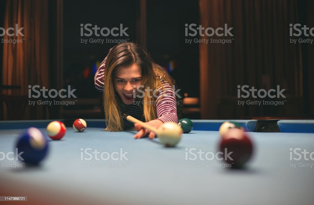 billiards games night with friends