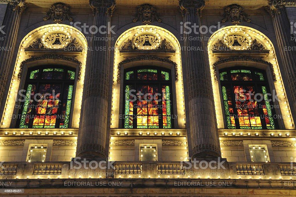 Cutler Majestic Theatre in Boston royalty-free stock photo