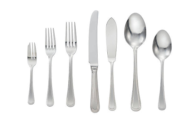 Cutlery Isolated stock photo