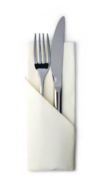 besteck - tafelbesteck stock-fotos und bilder