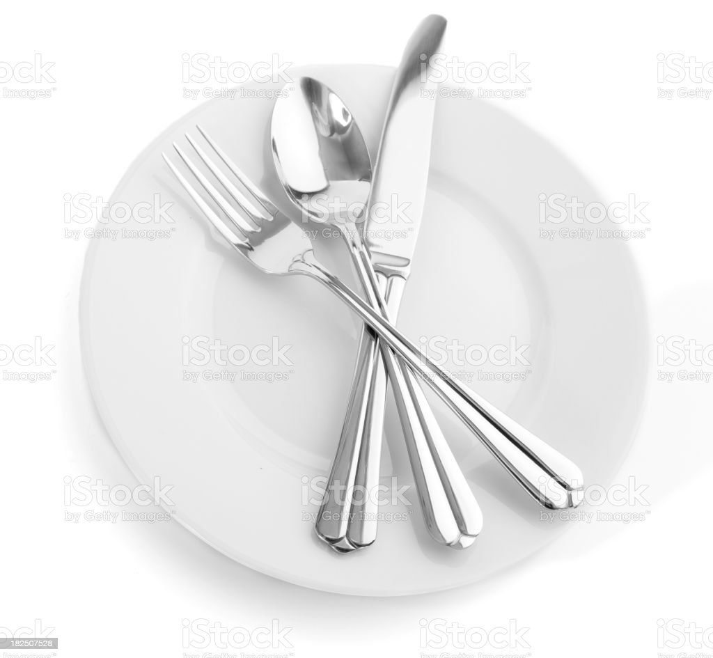 Cutlery. royalty-free stock photo