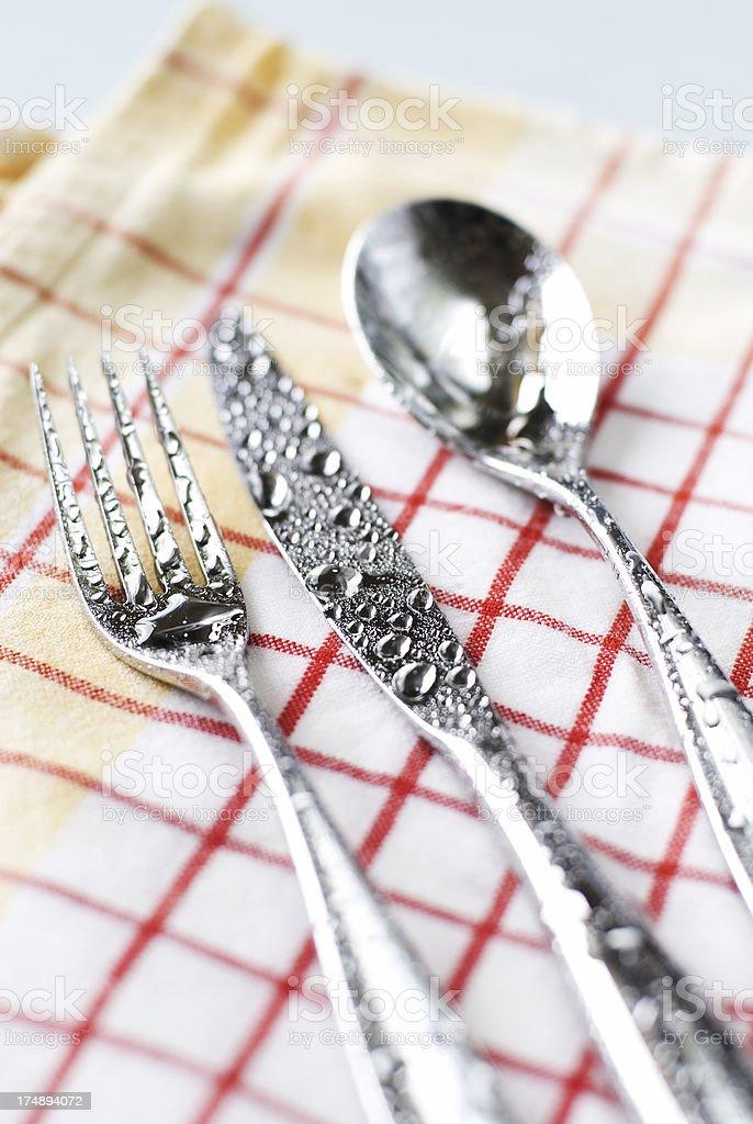 cutlery-set stock photo