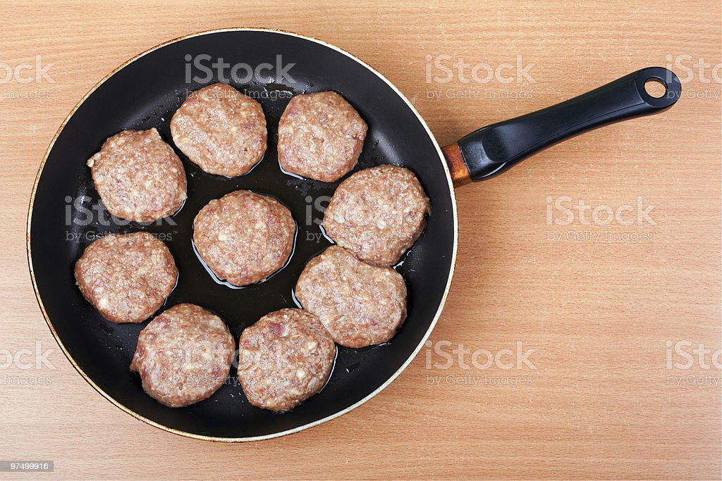 Cutlet food royalty-free stock photo