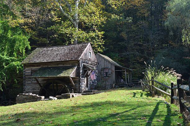 Cuttalossa Farm in Bucks County stock photo