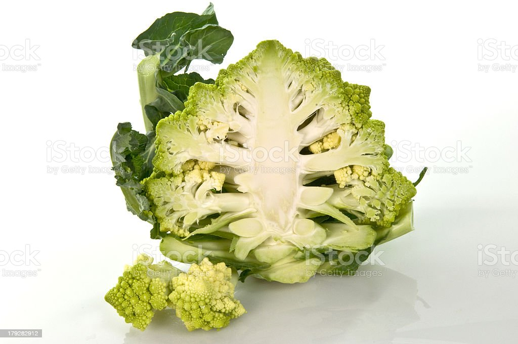 Broccolo cutted royalty-free stock photo