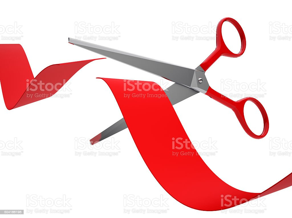 royalty free ribbon cutting pictures images and stock photos istock rh istockphoto com Elegant Ribbon Cutting Ribbon Cutting Scissors