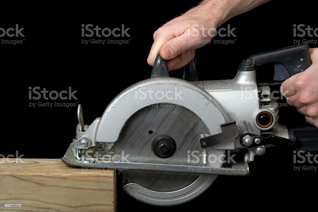 Cutting Away royalty-free stock photo