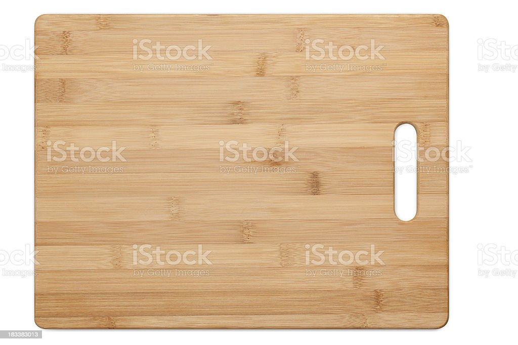 Cutting Board Isolated stock photo