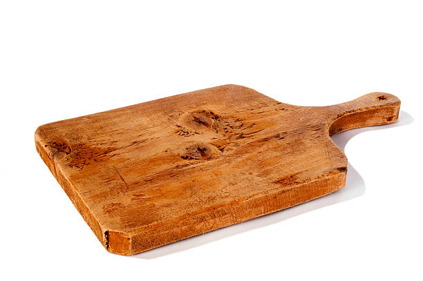 cutting board Old wooden cutting board cutting board stock pictures, royalty-free photos & images