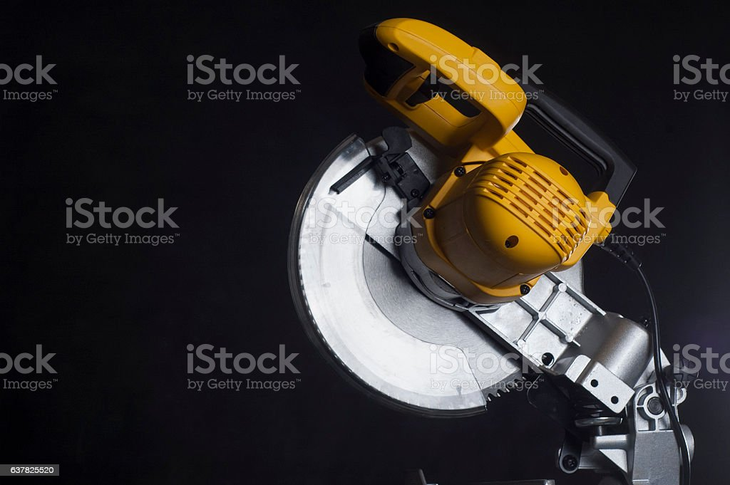 Cutting disk stock photo