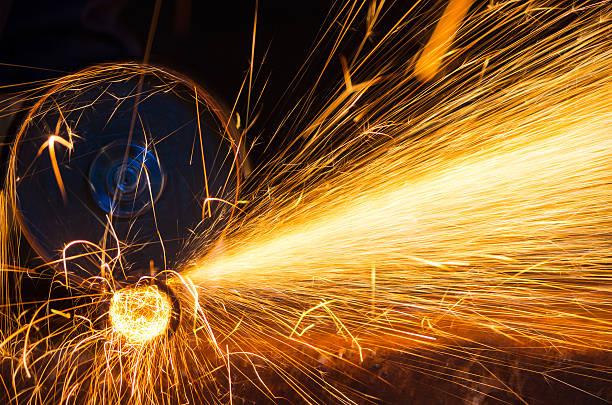 Cutting grinding wheel - foto de stock