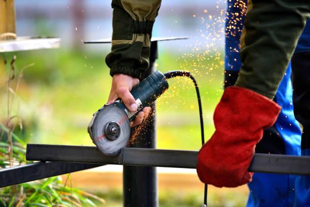 Cтоковое фото Cutting steel
