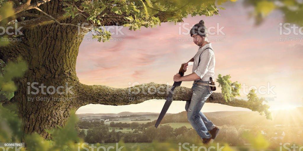 Couper la branche votre séance sur - Photo