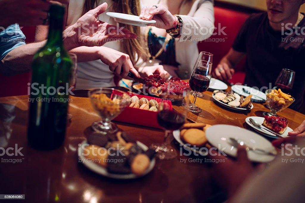 Découpe du gâteau - Photo