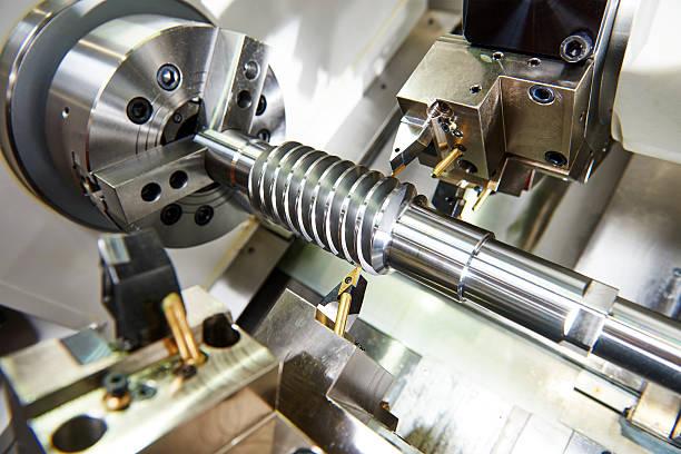 Outil coupant de travail en métal. - Photo