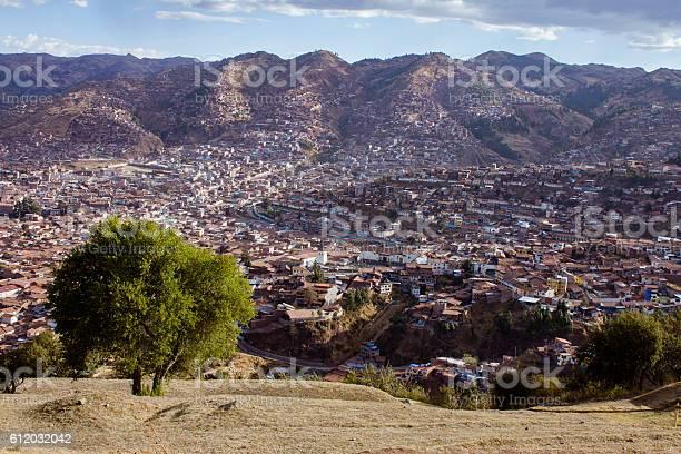 Cuzco view from Saqsayhuaman