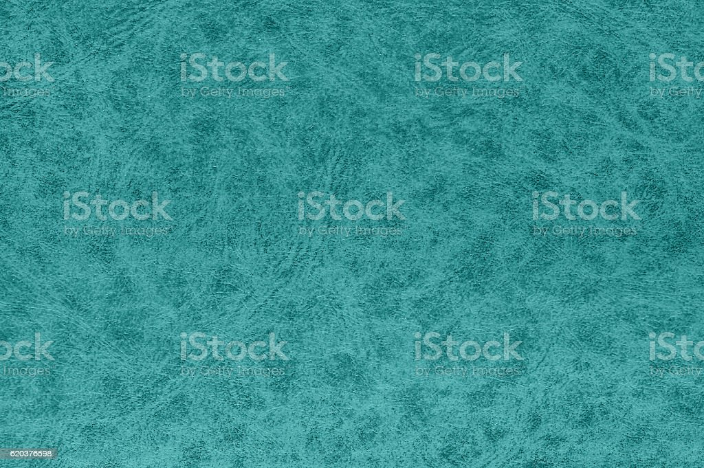 Cyan color leather surface. foto de stock royalty-free