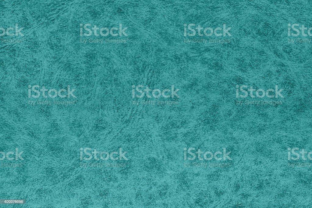 Cyan color leather surface. zbiór zdjęć royalty-free