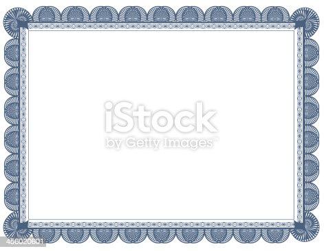 istock Cyanotype Document Frame 8.5 x 11 456020601