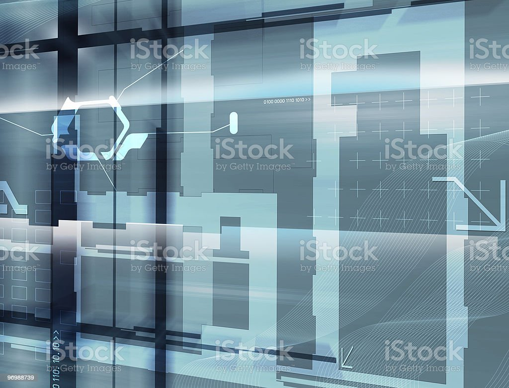 Cyber 09 royalty-free stock photo