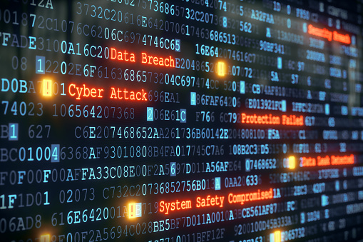 Cyber Attack A01 Stock Photo - Download Image Now