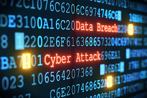 Cyber Attack A02 Stock Photo - Download Image Now