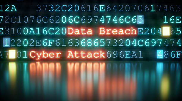 Cyber Attack A09 stock photo