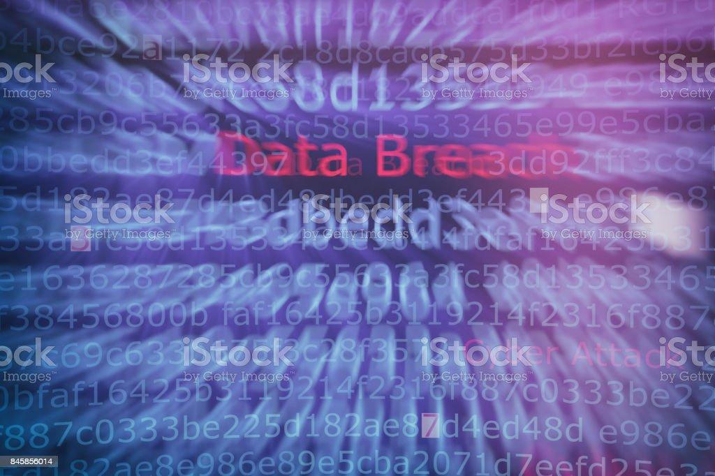 Equipo de Hacking de ataque cibernético - foto de stock