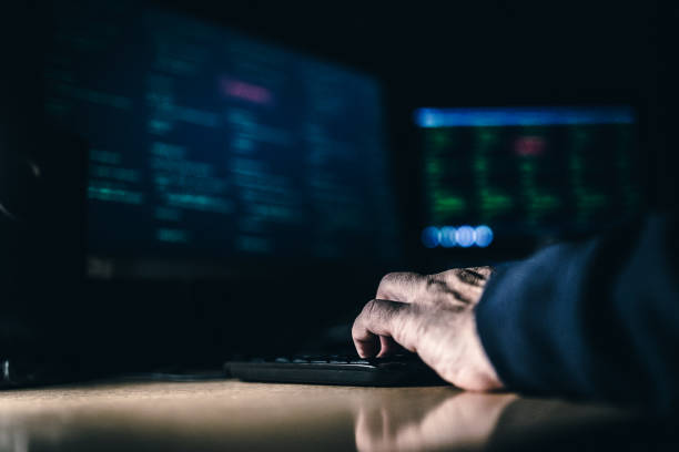 cyber attack - computer crime stock pictures, royalty-free photos & images