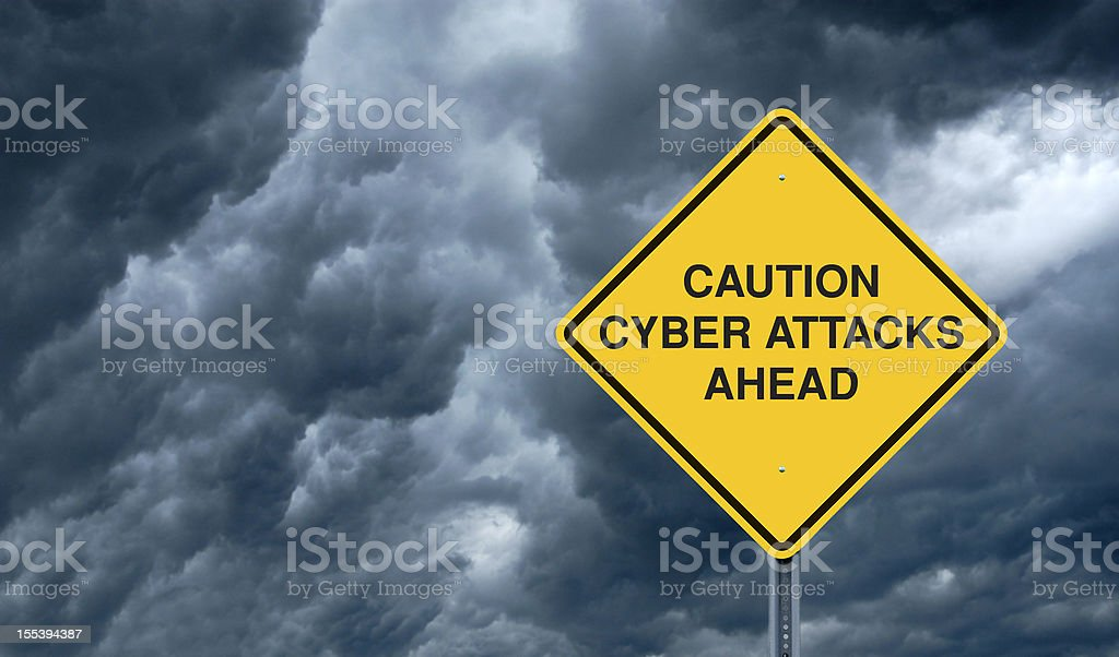 Cyber Attacks royalty-free stock photo