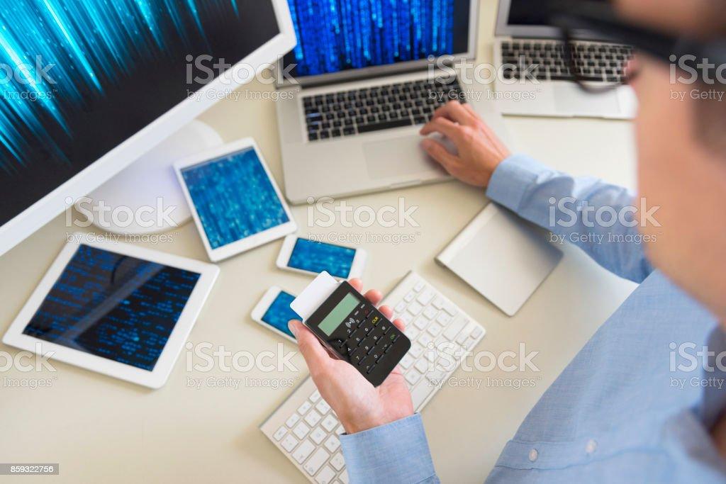 Cyber Attacks stock photo