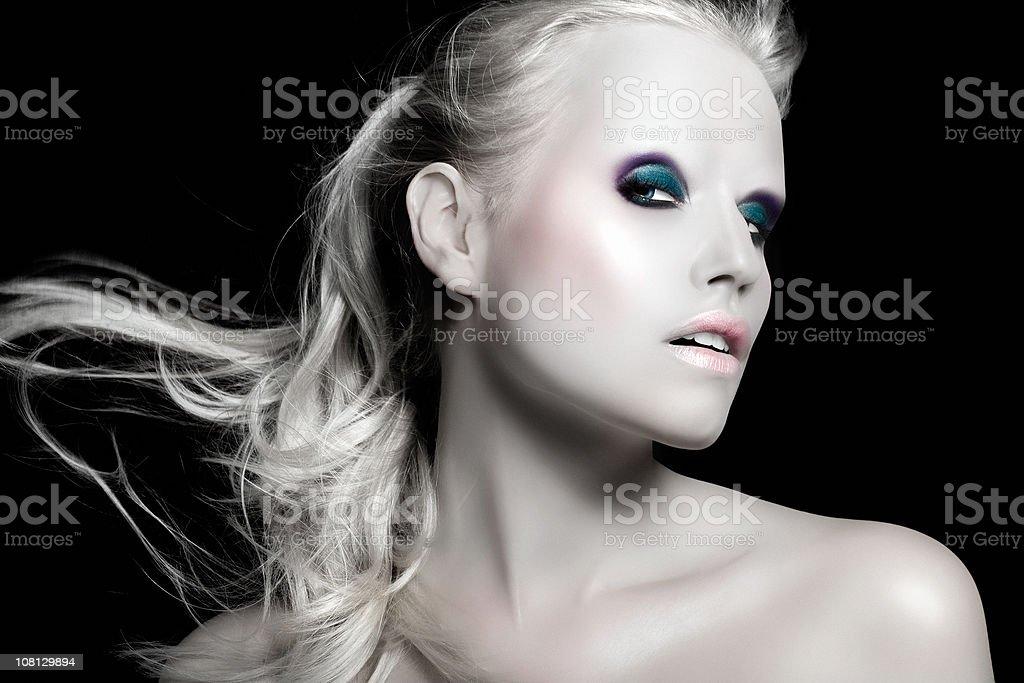 Cyber Beauty royalty-free stock photo