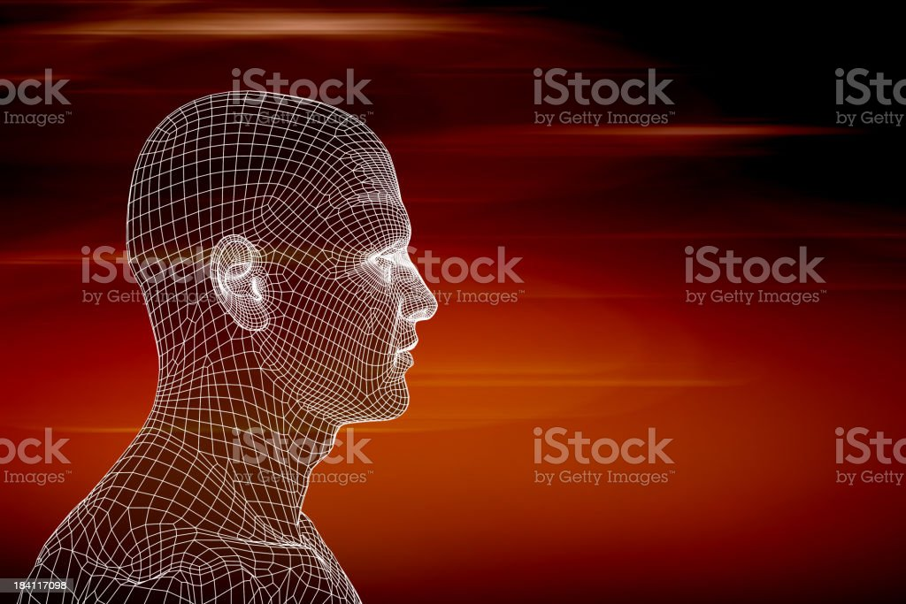 Cyber business royalty-free stock photo