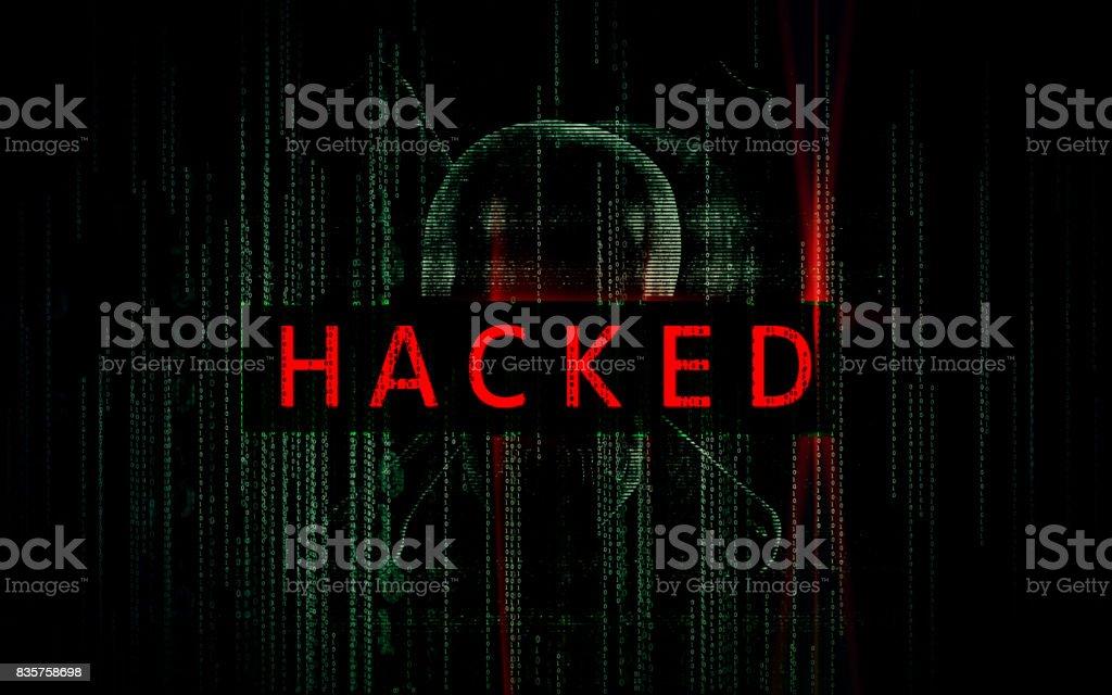 La cybercriminalité Concept - Photo