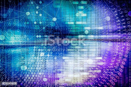 istock Cyber Internet Abstract Background 825045606