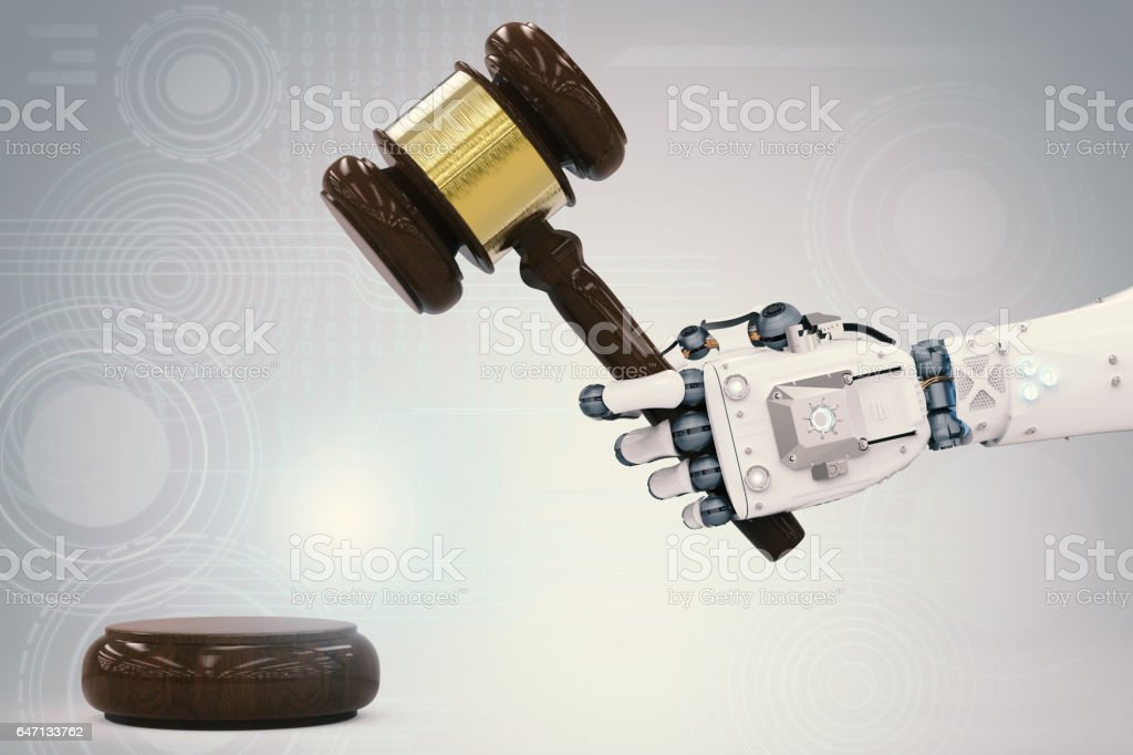 cyber law concept stock photo