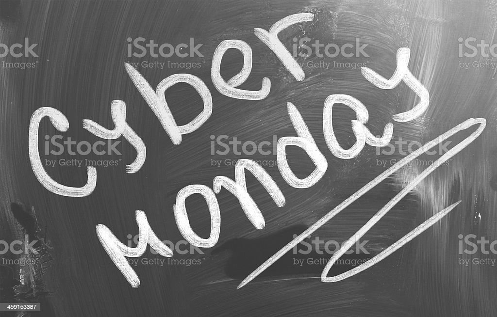 Cyber Monday Concept royalty-free stock photo