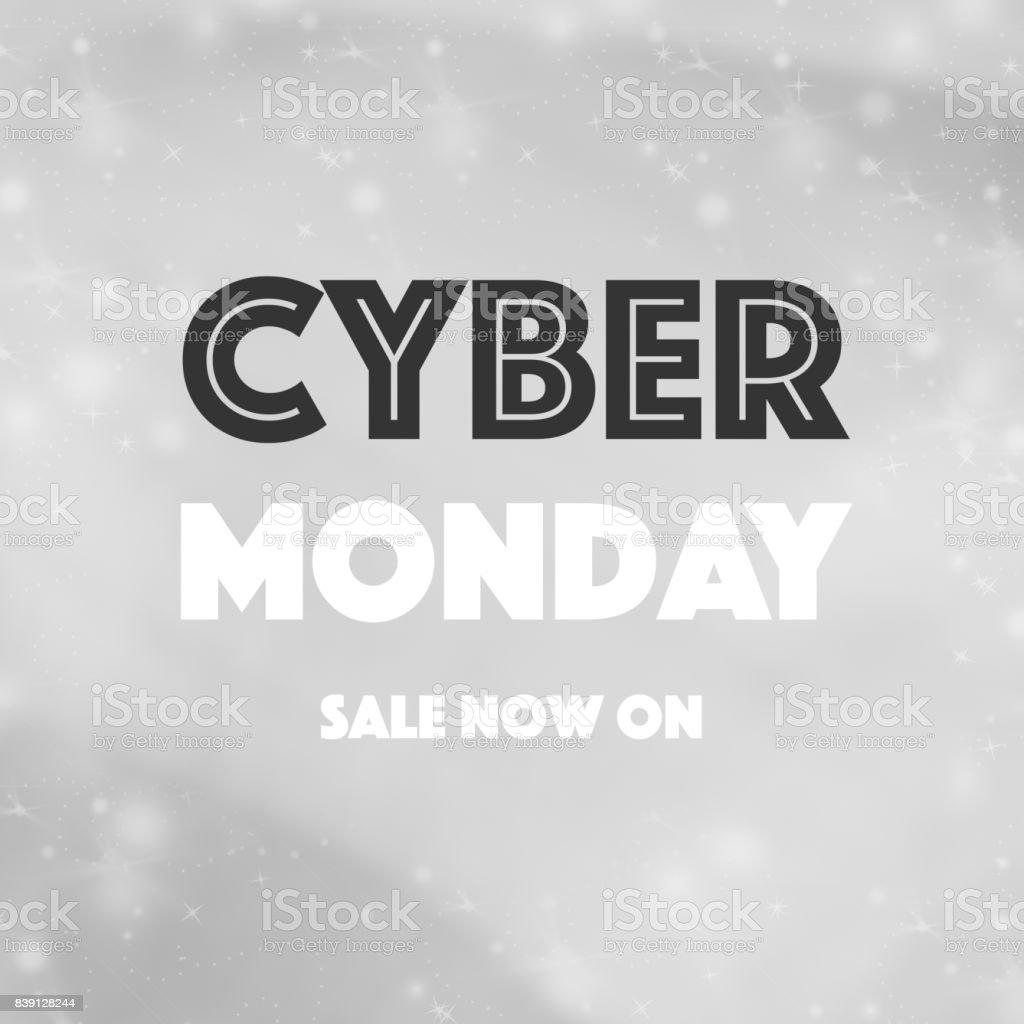 Cyber Montag Verkauf Konzept Hintergrund – Foto