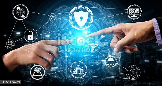 istock Cyber Security and Digital Data Protection Concept 1158174759