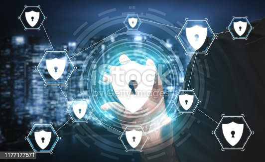906892336 istock photo Cyber Security and Digital Data Protection Concept 1177177571