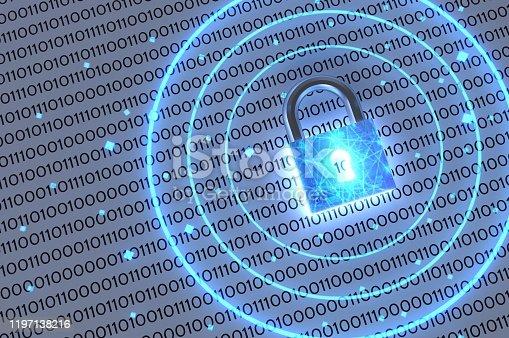 913017342 istock photo Cyber Security Blockchain 1197138216