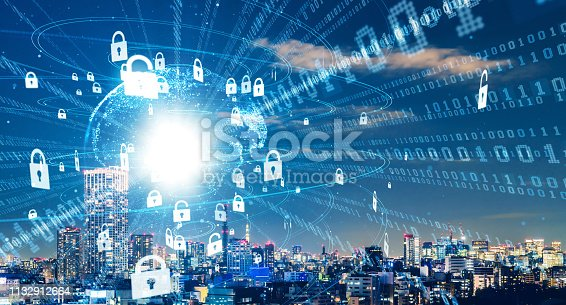 istock Cyber security concept. Encryption. 1132912664