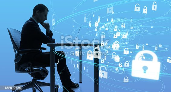 1054934004 istock photo Cyber security concept. Encryption. 1132912670