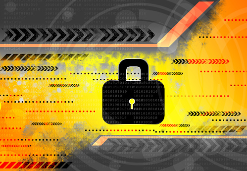 istock Cyber security concept 1058255598