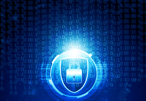 istock Cyber security concept 1058255850