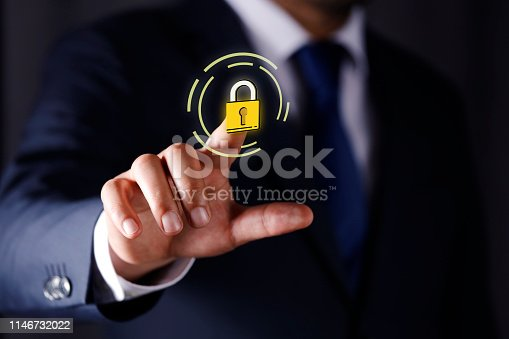 896596886 istock photo Cyber Security Concept 1146732022