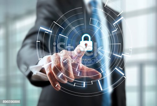 896596886 istock photo Cyber Security Concept 896596886