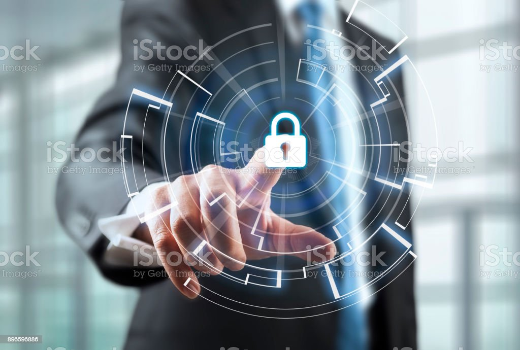 Cyber Security Concept stock photo
